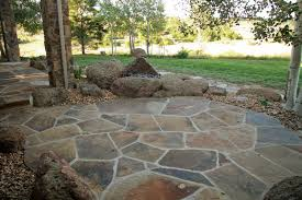 Rock Patio Design Flagstone Patio You Can Add Garden Patio Stones You Can Add