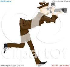 paparazzi clipart royalty free rf clipart illustration of a paparazzi taking