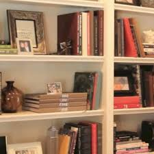 Bookshelves Decorating Ideas by Old World Leather Bound Books Used In Decorating A Book Shelf At