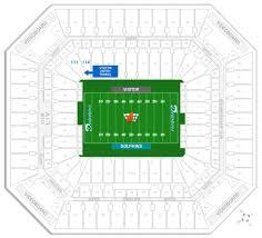 stadium floor plan dolphins u0026 miami fl hard rock stadium seating chart