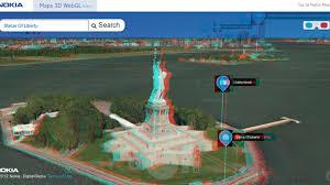Nokia Maps Nokia Maps Webgl Beta Gets Stereoscopic 3d Option The Verge