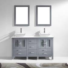 Bathroom Furniture Set Virtu Usa Md 4305 S Gr Bradford 60 In Bathroom Vanity Set