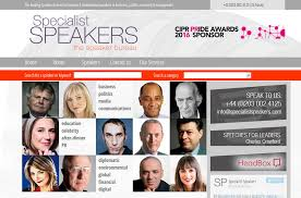 Environmental Scientists And Specialists Bureau Website Design And Development Details Of Specialist Speakers By