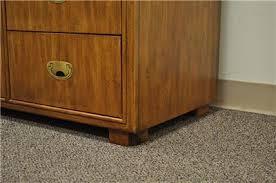 Vintage Drexel Bedroom Furniture by Vtg Drexel Heritage Passage Dresser Credenza Campaign Style Chest