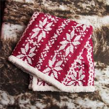 popular plush thick blankets buy cheap plush thick blankets lots 100 70cm double layers chirstmas knitting blanket thick knit blanket knitted blankets lamb plush quilt