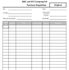 6 requisition form templates formats examples in word