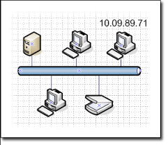 Home Floor Plan Visio Stencil Show Ip Addresses And Other Information On Your Visio Network