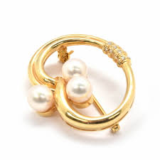 v shape diamond with fresh water pearl ring christine k jewelry search for jewelry our products the estate jewelry company