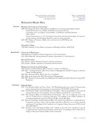 Latex Resume Template Phd Latex Template Resume Could See A Layout Like This For A Resume