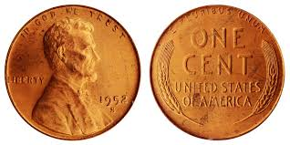 penny s 1952 s lincoln wheat cent bronze composite penny value and prices