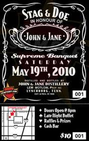 Stag Tickets Template and invitations and templates buck and doe invites pre
