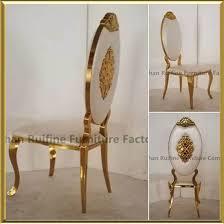 Gold Dining Chairs China 2017 Modern New Design Gold Banquet Wedding Royal King