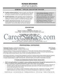 resume examples teacher resume example and free resume maker