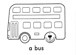 bus multilevel coloring pages for kids mw printable bus