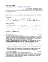 download architectural project manager resume it technical samp