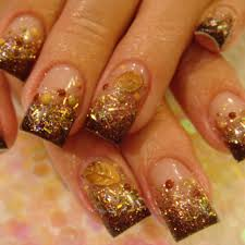 27 simple fall nail designs easy fall nail art designs ideas