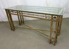 Wrought Iron Console Table Wrought Iron Console Table With Glass Top Olde Things