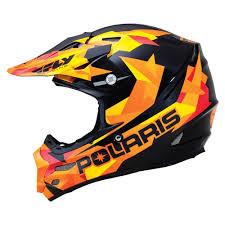 camo motocross helmet oem polaris fly f2 fractal carbon fiber open face offroad helmet