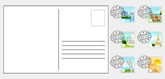 postcard clipart plain pencil and in color postcard clipart plain