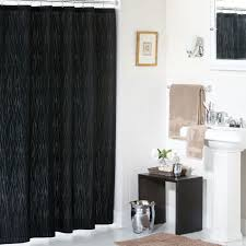 bathroom shower curtain ideas designs gorgeous black shower curtain design ideas for simply awesome look