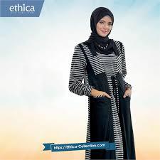 desain baju gamis hamil tips memimilih baju hamil wanita muslimah ethica collection