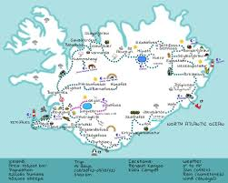 Iceland Map Location Kúkú Maps