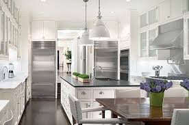 Modern Backsplashes For Kitchens by The Best Choice Of Backsplash For White Kitchen Home Design And
