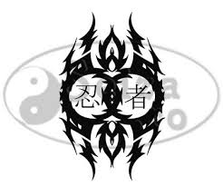 tattoo art kanji for ninja tattoo