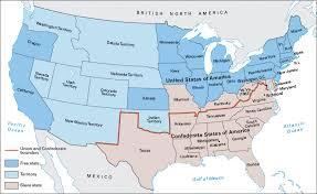 map us states during civil war map usa civil war states outline united states map during the