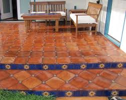 home and floor decor best 25 mexican tile floors ideas on terracotta tile