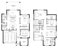 house designs and floor plans nsw allure 35 double level floorplan by kurmond homes new home