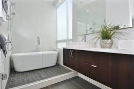 bathroom bathroom with separate toilet and shower toilet in