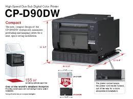 Photo Booth Printer Computing Designs Inc Mitsubishi Cp D90dw Cpd90dw Multi Size