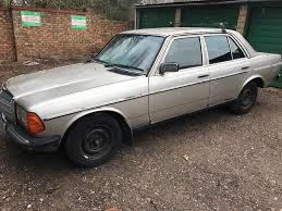 mercedes 240d 2399cc diesel 5 speed manual 4 door saloon b reg 24