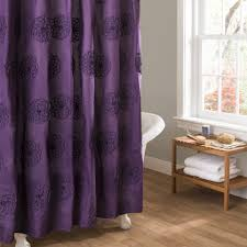 Threshold Medallion Shower Curtain by Purple Shower Curtain Garden Tub U2014 The Homy Design