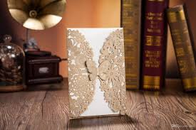 gift cards for cheap wedding invitations laser cut customised invitation cards wedding
