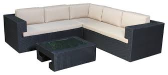seating sofa oasis outdoor wicker seating sofa 4 set style