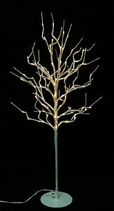 hi line gift floral lights lighted willow tree in white wrap with