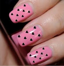 cute pink nails designs how you can do it at home pictures