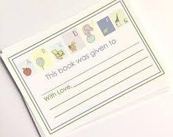childrens bookplates etsy