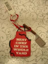 chef ornament christmas gifts for occupations pinterest