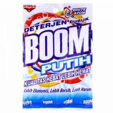 Sabun Boom detergent powder mojomaret