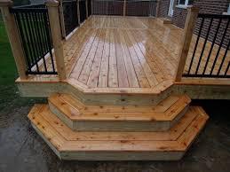 cedar deck w aluminum railing union ky area