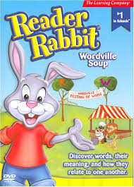 rabbit dvd reader rabbit wordville soup reader rabbit tv