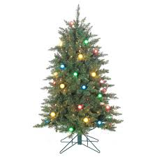 pre lit artificial christmas trees sterling 4 5 ft pre lit reno pine artificial christmas tree with