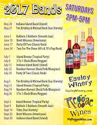 groovin u0027 in the garden easley winery