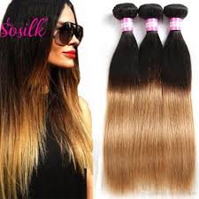 Double Weft Hair Extensions by Cheap So Silk Virgin Malaysian Ombre Hair Bundles 1b 27 Ombre