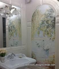 bathroom mural ideas beautiful ceramic tile murals for bathroom