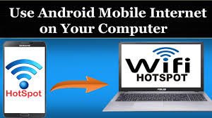 mobile hotspot for android how to use android mobile on your computer using wifi