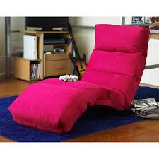 your zone loft collection wave lounger pink walmart com